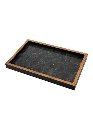 Bella Maison Marmo Tepsi (22x37 cm) Siyah